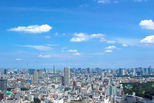 도시의 전망 도쿄 2