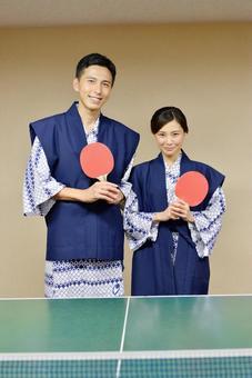这是乒乓球说到温泉! 4
