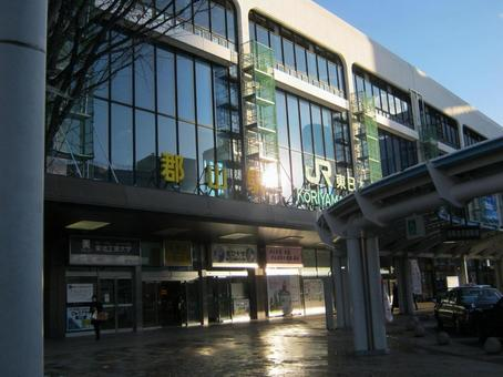Koriyama station building