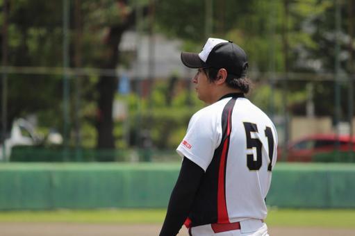 Person male baseball uniform