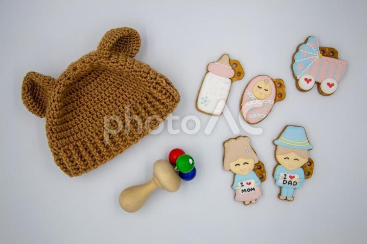 赤ちゃんの小物の写真