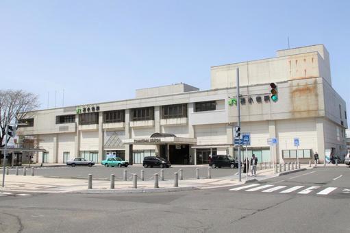 JR 토마 코 마이 역 남쪽 출구