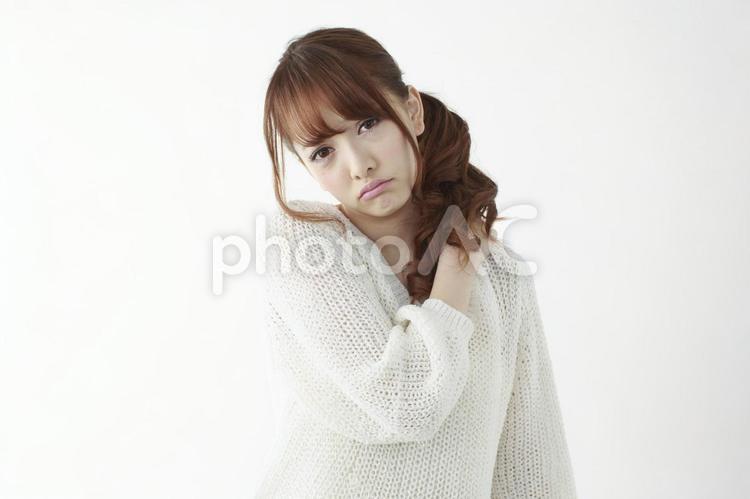 肩凝りの女性1の写真