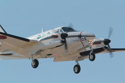Propeller plane diagonally