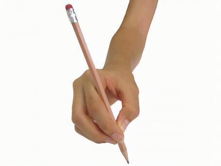 铅笔和手03