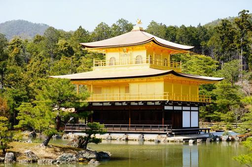 Kyoto Kinkakuji Temple Kaenji Temple Gorgeous