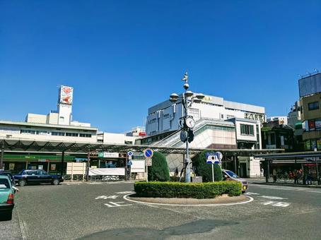 JR 게이 힌 도호쿠 선 니시카와 구치 역 서쪽 출구