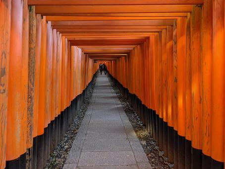 [Kyoto Fushimi Inari Taisha] Senbon Torii