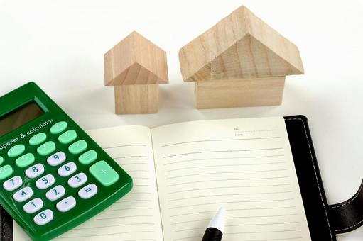 Wooden house and writing instrument
