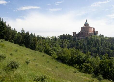 St. Luke's Church seen from Bologna hill