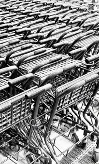 Shopping cart material
