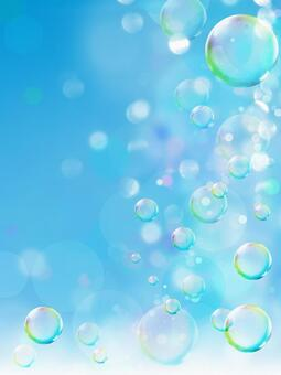 Image background of soap bubble