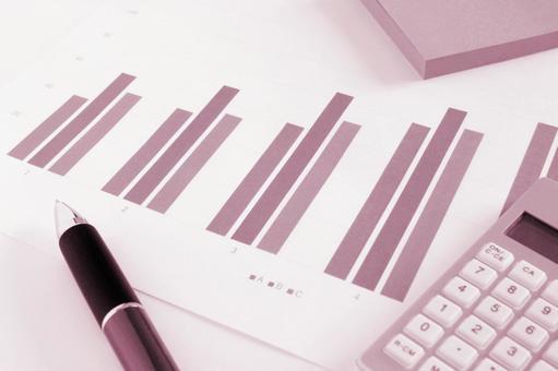 Business materials Pink