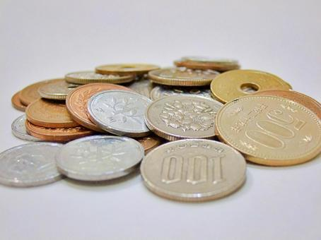 Japanese coin (free free material photo)