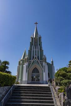 [Nagasaki] Hirado Xavier Memorial Church (Hirado Island)