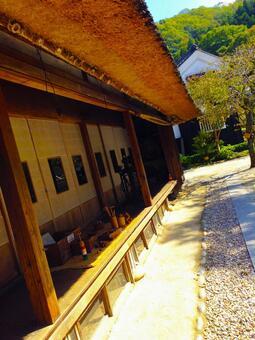고민가 시골 농가 툇마루 일본의 주택