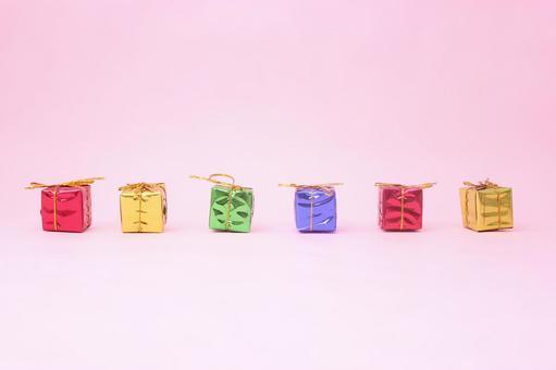 五颜六色的礼物