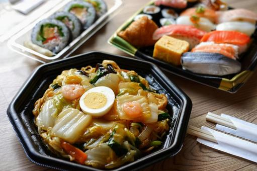 Takeout delivery image