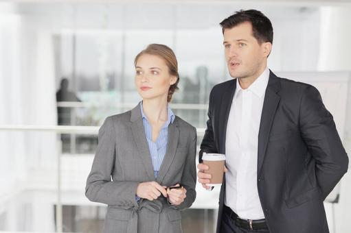 Businessman and business woman 9