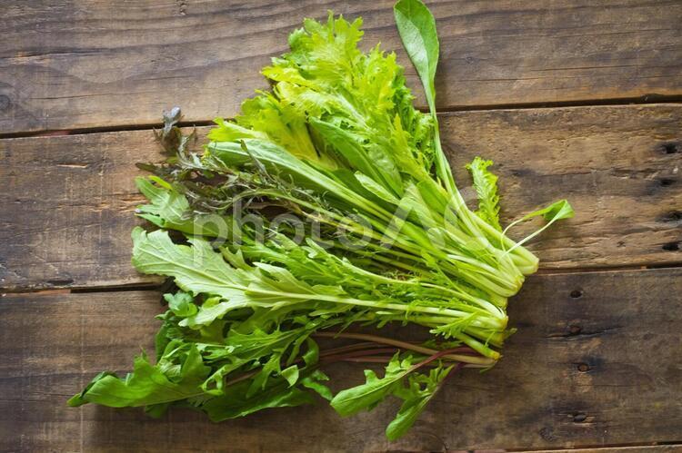 葉物野菜サラダ用の写真