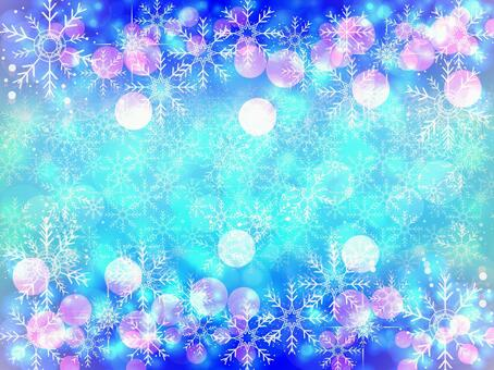Snow Crystals Background 35