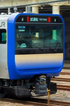 Yokosuka Line E235 series 1000 series trial run