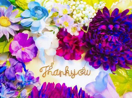 お礼の言葉のメッセージカード