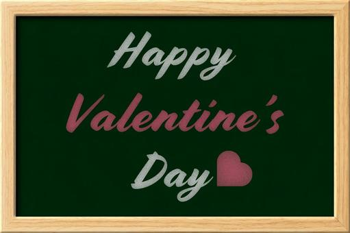 Blackboard style material (Valentine)