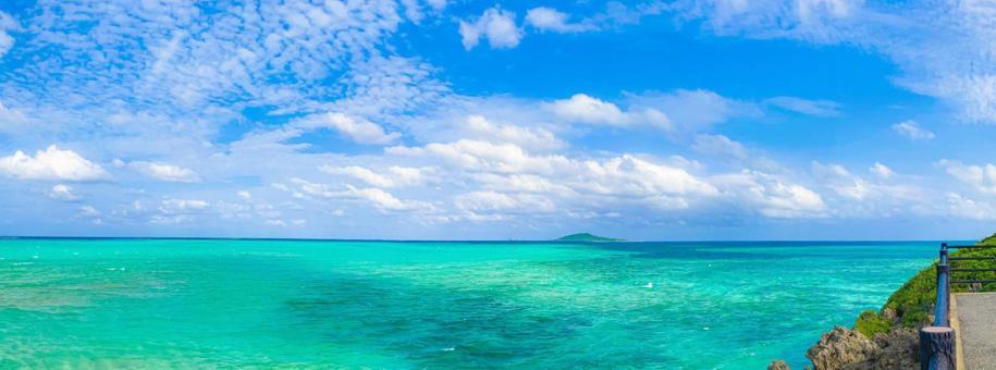 Miyakojima Sea 8 (Panorama)