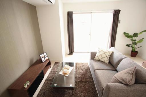 Model Room Interior