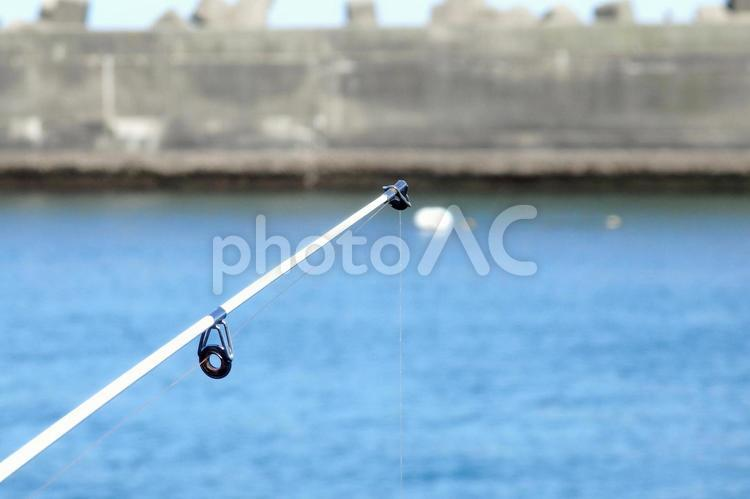 堤防釣りの写真