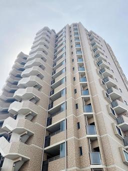 High-rise condominium real estate image