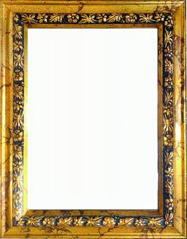 Antique style gold color frame