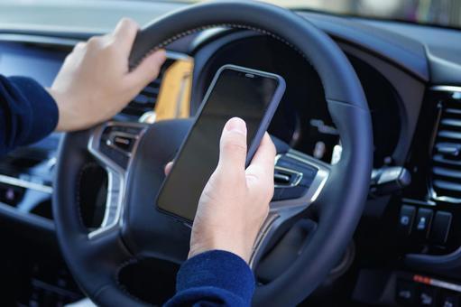 Car driving smartphone