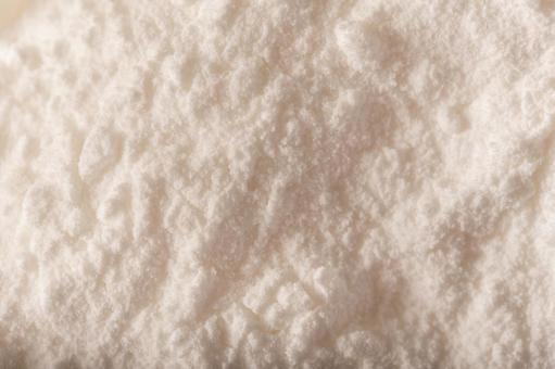 가루 설탕 클로즈업