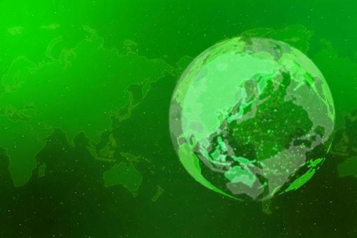 녹색 디지털 네트워크 이미지 배경