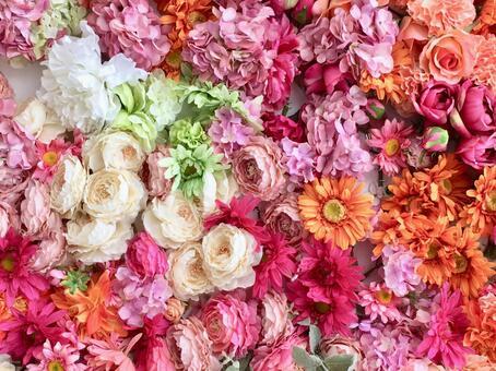 Bouquet wall 3