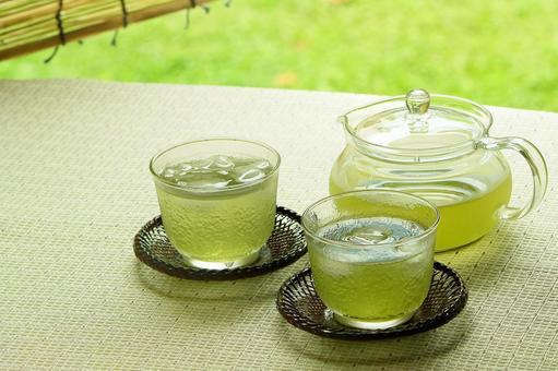Summer green tea