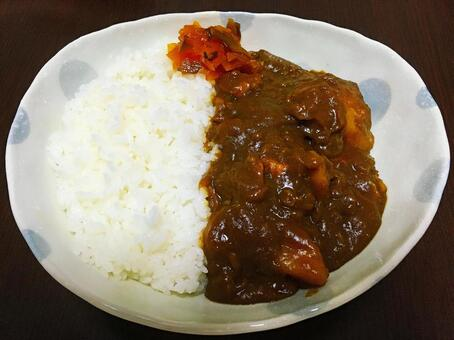 Curry and rice 1