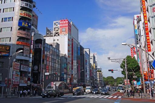 Tokyo Metro Ueno Hirokoji Station Ueno Hirokoji Crossing