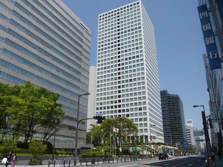 오사카 중심가