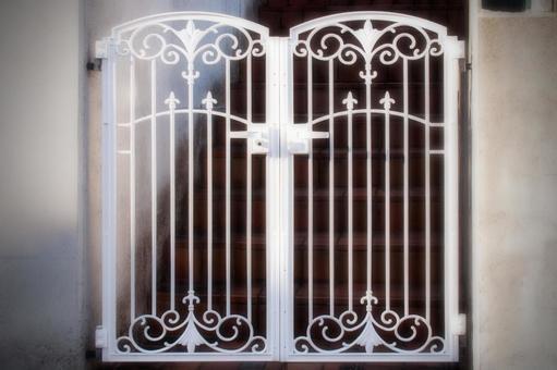 Material White gate 02