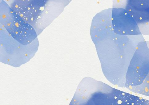 Background Texture Watercolor Frame Embossed Paper Glitter Glitter Blue Purple Summer