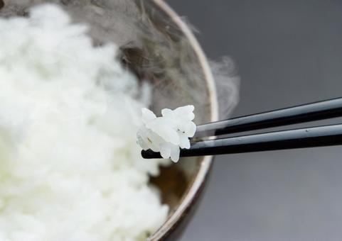 Boiled rice / chopstick rice ver