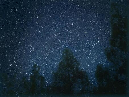 夜空 フリー 素材