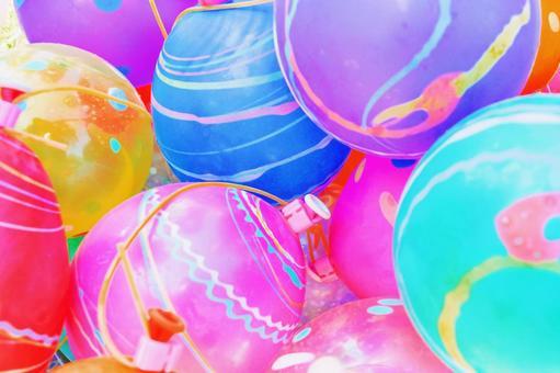 水氣球 / 夏季形象