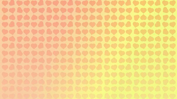Background yellow heart