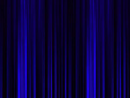 Blue background material striped curtain