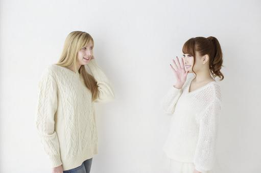 Female friend Foreigner and Japanese 6