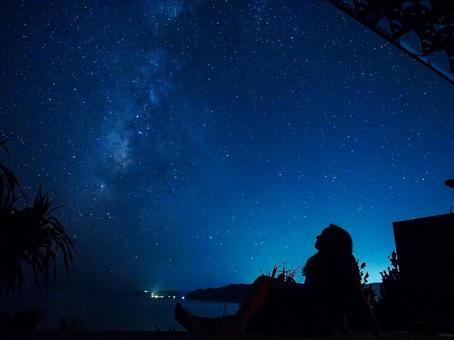 Amami Oshima starry sky